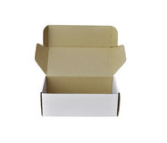 White paper box Stock Images