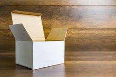 White paper box Stock Photos