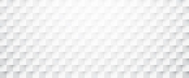 White paper checkered textured banner. Stock Images