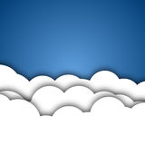 White Clouds Background Royalty Free Stock Photo