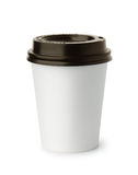 White paper coffee cup Stock Photography