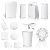 White Paper Collection Stock Image