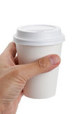White Paper Cup Royalty Free Stock Photo