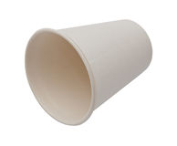 White Paper Cup close up royalty free stock photo