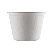 White Paper Cup close up royalty free stock image