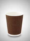 White paper cup for coffee. And tea Royalty Free Stock Images