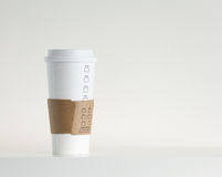 White Paper Cup Royalty Free Stock Photos