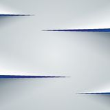 White paper cut background Stock Image