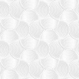 White paper 3D slim stripes small circle pin will Stock Photo