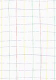 White paper with graph color line Royalty Free Stock Photo