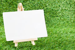 White paper on Grass Stock Photo