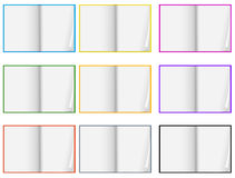 White paper Royalty Free Stock Photos