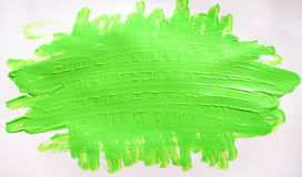 White paper, light green , paint Stock Photos
