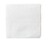 White paper napkin Royalty Free Stock Photo