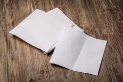 White paper napkin Stock Image