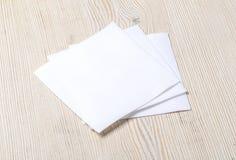 White paper napkin Stock Photos