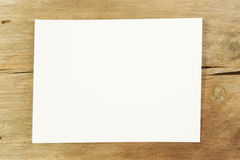 White Paper On Wood Stock Photography