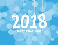 2018 White Paper Origami card or background.Happy New Year. Merry Christmas. Vector illustration. 2018 White Paper Origami card or background.Happy New Year Stock Photo