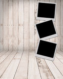 White paper picture frame Royalty Free Stock Photos
