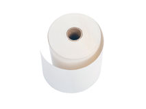 White paper roll Stock Photos
