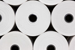 White Paper Rolls Royalty Free Stock Image