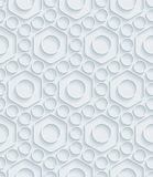 White paper seamless background. Stock Images