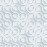 White paper seamless background. Royalty Free Stock Photo