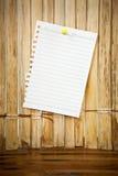White paper sheet Stock Photos