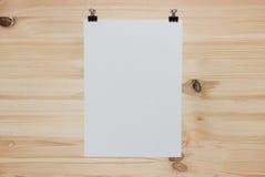 White paper sheet Royalty Free Stock Photo