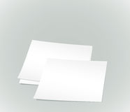 White paper sheets Stock Image