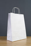 White Paper Shopping Bag Royalty Free Stock Images