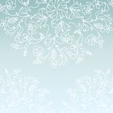 White paper snowflake Royalty Free Stock Photos