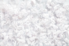 White paper streamer decoration Stock Image