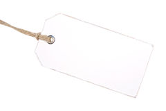 White Paper Tag stock images
