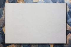 White paper texture. For background Royalty Free Stock Image