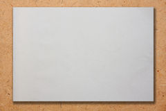 White paper texture on Plywood. White paper texture for background Stock Photos