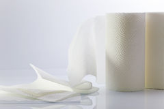 White paper towel Stock Photo