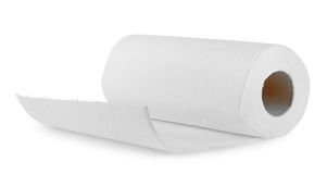 White paper towel Stock Images