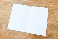 The white paper Stock Image