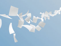 White papers royalty free illustration