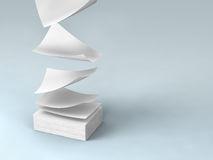 White papers Royalty Free Stock Photos