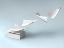 White papers Royalty Free Stock Image
