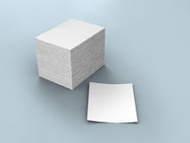 White papers Stock Image