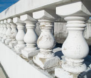 White Parapet Stock Images