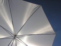 white parasolowy Zdjęcie Royalty Free