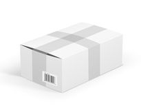 White parcel Royalty Free Stock Image
