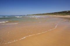 White Park Bay beach in Northern Ireland Royalty Free Stock Photos