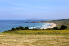 White Park Bay. stock photos