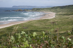 White Park Bay, County Antrim. Northern Ireland stock photo