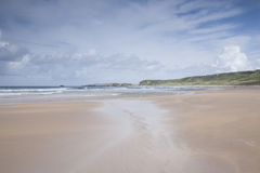 White Park Bay, County Antrim. Northern Ireland stock images